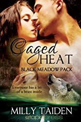 Caged Heat (Black Meadow Pack Book 2) (English Edition)