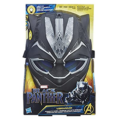 Marvel Black Panther Vibranium Power FX Mask: Hasbro: Toys & Games