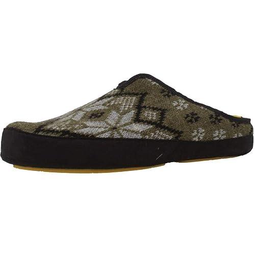 Zapatillas de Estar por casa de Hombre, Color Verde, Marca NORDIKAS, Modelo Zapatillas De Estar por Casa De Hombre NORDIKAS 7531 Verde: Amazon.es: Zapatos y ...