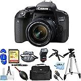 Canon EOS 800D/T7i 24.2MP Digital SLR Camera with EF-S 18-55mm Lens [International Version] (Pro Bundle)