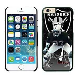 NFL Oakland Raiders Lester Hayes Case Cover For Apple Iphone 6 4.7 Inch Black NFL Case Cover For Apple Iphone 6 4.7 Inch 13808