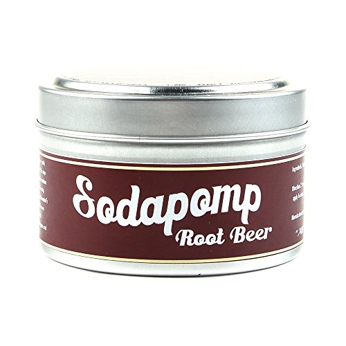 Sodapomp Hair Pomade - 4 oz. - Medium Hold - 9 Scents! (SCENT: Root Beer)