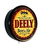 DEELY Beer and Ale Cerveza Lighted Wall Sign