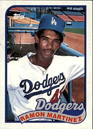 Amazon 1989 Topps Baseball Rookie Card 225 Ramon Martinez Mint Collectibles Fine Art