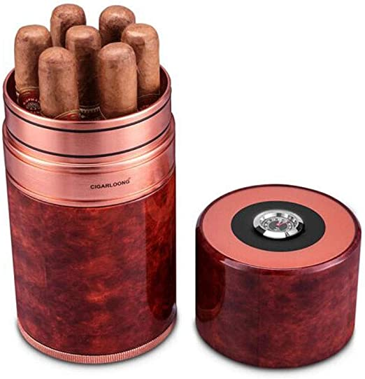 KPPTO Caja de cigarros, caja de cigarros de aluminio for humidores ...