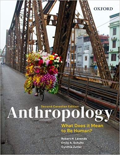 Anthropology: What Does It Mean to Be Human? Second Canadian Edition - Original PDF