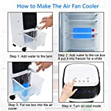 COSTWAY Evaporative Cooler, Portable Air Cooler