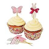 Meri Meri 45-1309 Baby Shop Pink Cupcake Kit Novelty