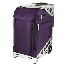 """Pro Artis 19.5"""" Suitcase Color: Royal Purple / Silver"""