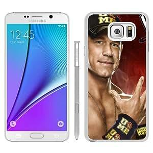 Unique Samsung Galaxy Note 5 Skin Case ,WWE John Cena white Samsung Galaxy Note 5 Cover Fashionable And Durable Designed Phone Case