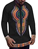 COOFANDY Mens African Dashiki American Casual