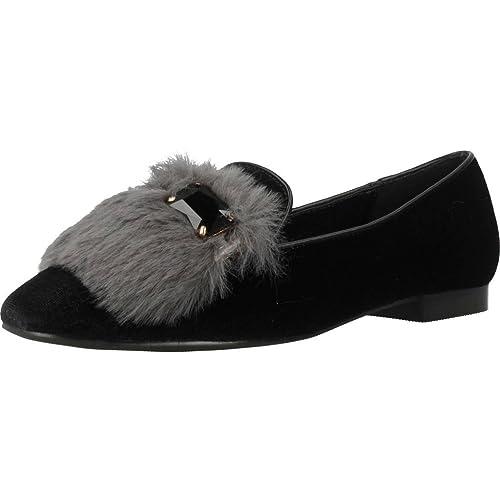 Mocasines para mujer, color Negro , marca CAFENOIR, modelo Mocasines Para Mujer CAFENOIR ED924 Negro: Amazon.es: Zapatos y complementos