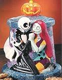 Disney Store Tim Burton's Nightmare Before Christmas JACK and SALLY Graveyard Cookie Jar