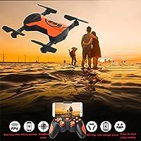 Boyiya RC Drone, 2.4G 4CH Altitude Hold HD Camera WIFI FPV RC Quadcopter Drone Selfie Foldable