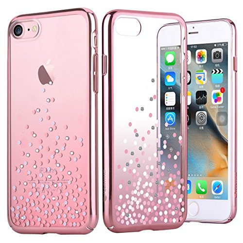 Iphone 7 Case Comma Polka Crystal Series Original Swarovski