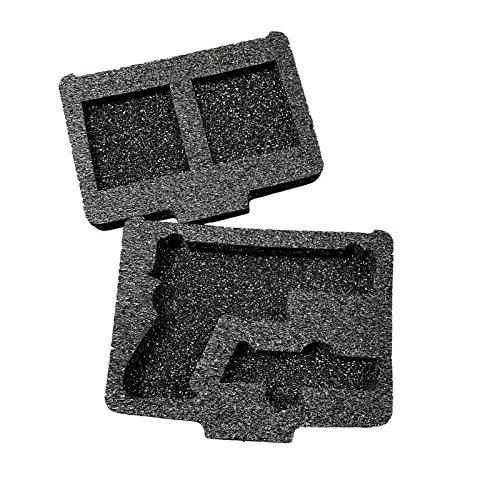 Top Shelf Glock Multi-Fit Foam Insert Kit TS100HD-GLK (Foam Saddlebag)