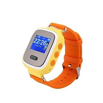 320c4f81374 Auntwhale Children GPS Tracker Smartwatch Smart Watch for Kids Anti-Lost Sos  Sim Card Watch Parent Control by Smartphone Q60 Smart Watch Location  Tracker ...