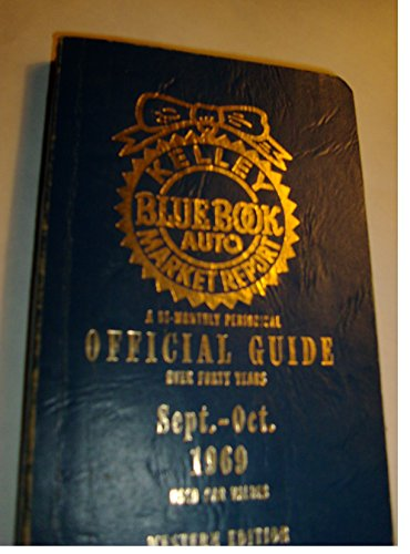 Kelley Blue Book, 1970 Sept. - Oct., Official Guide - Used Car Values / Western Edition