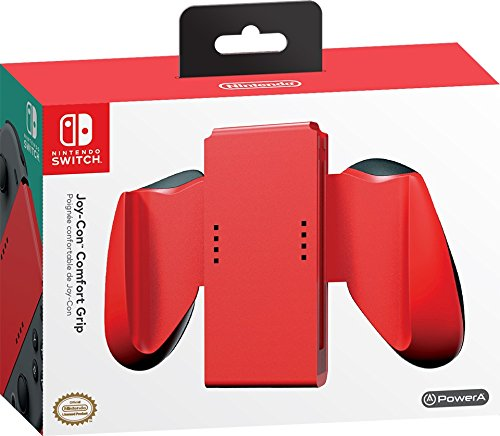 PowerA Joy-Con Comfort Grips for Nintendo Switch - Red -