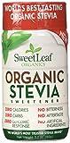 SweetLeaf Organic Stevia Sweetener, 3.2 Ounce