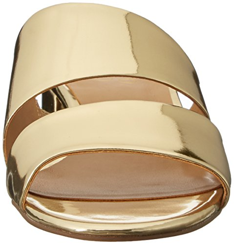 Franco Sarto Damen Tallen Sandalette Gold