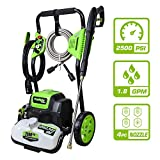 PowRyte Elite 2500 PSI 1.80 GPM Electric Pressure Washer, Electric Power Washer