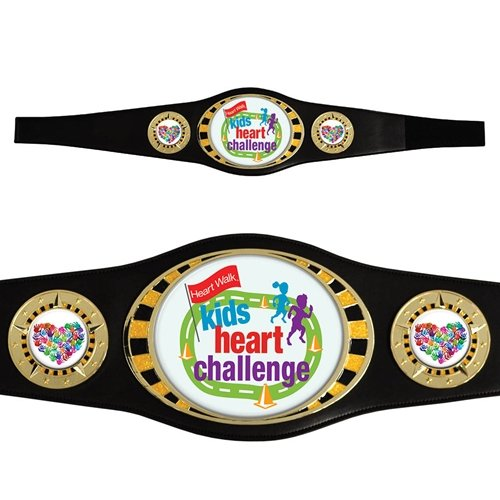 Kids Championship Award Belt with your custom artwork and text by TrophyPartner