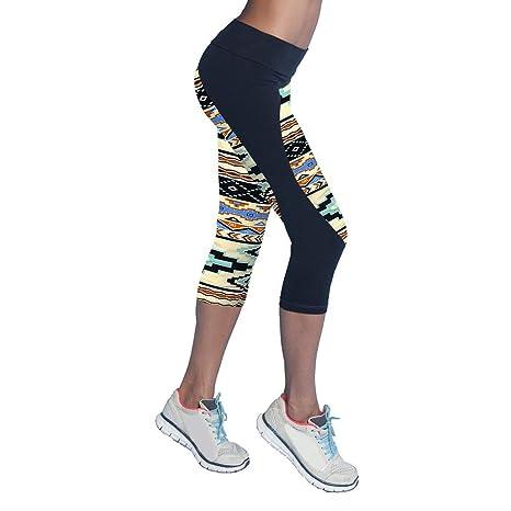 Amazon.com: 2019 Quick Drying Trousers Elastic Capris Yoga ...