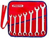 Stanley Proto J3700AT Proto Combination Flare Nut Wrench Set, 12 Point, 7-Piece