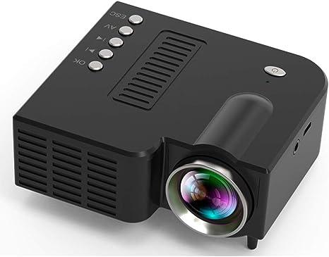 Opinión sobre QK Proyector Teatro en Casa,Mini Proyector Portátil en Casa, Soporte HD 1080P, 10-60in Pantalla