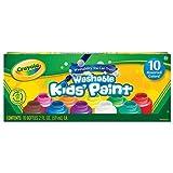 Crayola Washable Kids Paint set of 10 Bottles (2 fl oz/59mL)-2 Pack