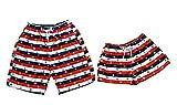 Women Beach Men Beach Pants Shorts Couples Shorts Sets Stripe Color Swimming Trunks Swimwear Quick-drying