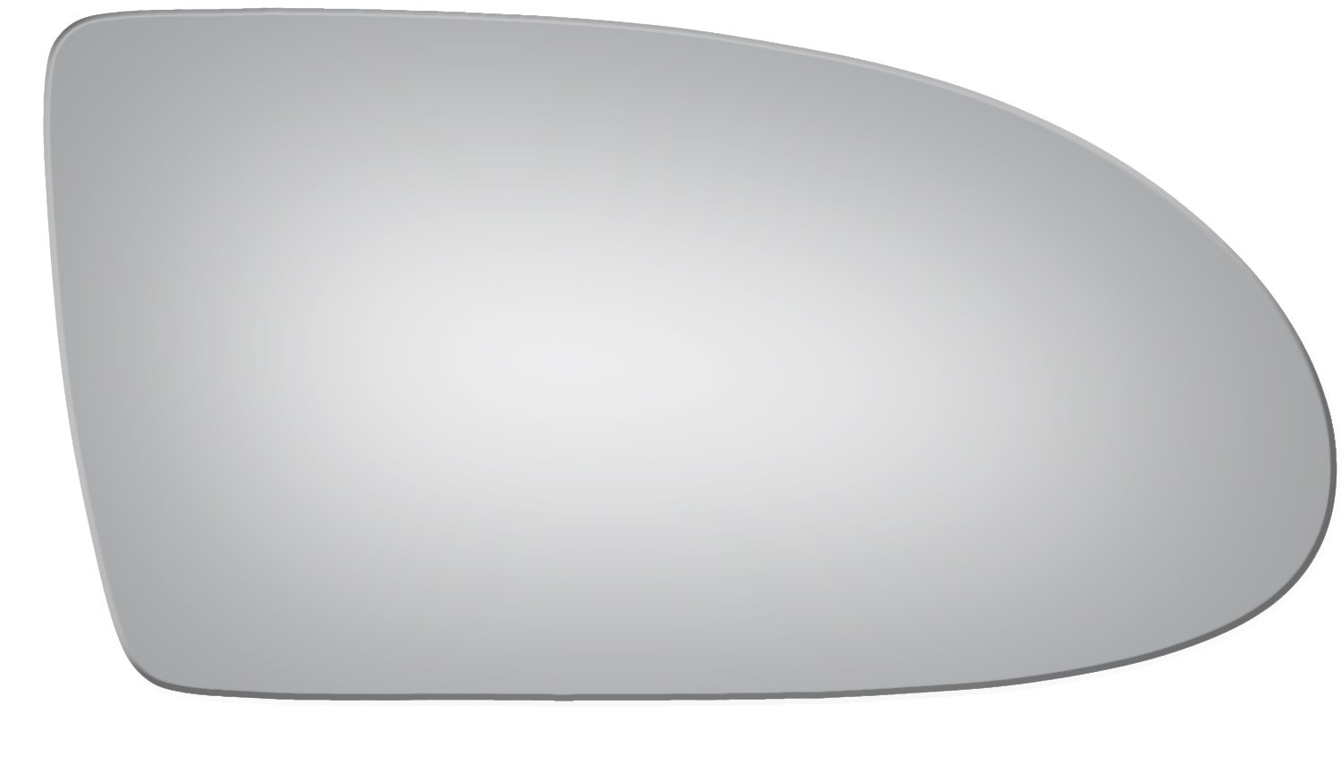 2006-2009 HYUNDAI ACCENT Convex Passenger Side Replacement Mirror Glass