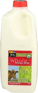 365 Everyday Value, Organic Whole Milk, 64 oz