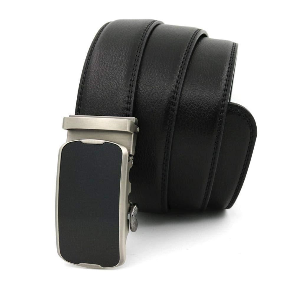 Cintura Uomo Nero Classico Automatico larghezza 3,2 cm 110 115 120 125 130 cm