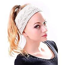 HDE Women's Knit Headband Braided Crochet Cable Knit Ear Warmer Winter Hairband