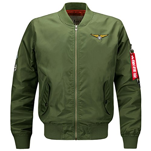 Bomber Jacket Men Mens Tactical Jackets And Coats Military Army Jacket For Men Baseball Varsity Jacket chaqueta hombre.DA23 at Amazon Mens Clothing store:
