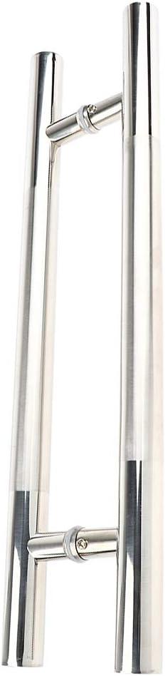 21,85 x 6,29 Zoll Ca 01 T/ürgriff Stossgriff Haust/ür Stangengriff Edelstahl Gr/ö/ße 55,5 x 16 cm