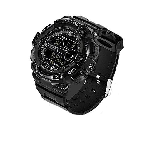 Reloj de niño adolescente,Deportes acuáticos deportes al aire libre reloj electrónico digital de múltiples funciones de diseño de moda-D: Amazon.es: Relojes