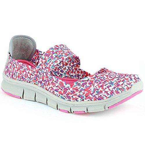 Heavenly Feet - Zapatillas para mujer, color rosa, talla 40 EU