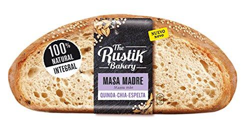 The Rustik Bakery - Pan de Hogaza Integral con Quino, Chia y Espelta - 450g: Amazon.es: Alimentación y bebidas
