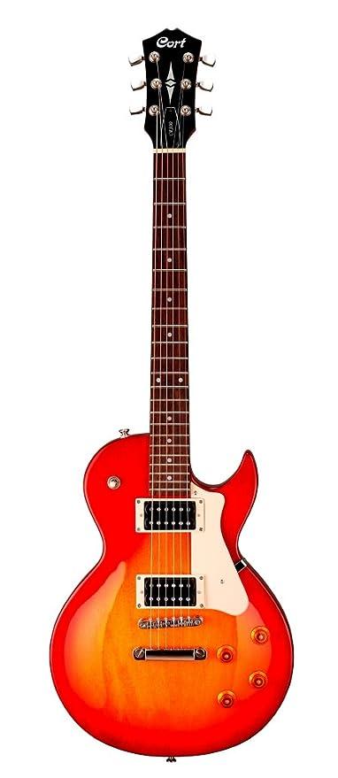 Cort CR100 - Guitarra eléctrica (calibre de cuerdas: 10-46), color