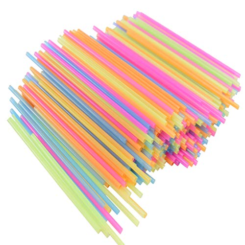 Cocktail and Coffee Straws Coffee and Drink Stirrers Plastic Drink Stirrers in Bright Colors Stirring and Sipping Straws…