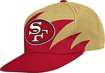 9226ce78a5891 Image Unavailable. Image not available for. Colour  San Francisco 49ers  Mitchell   Ness Shark Tooth Vintage Snap Back Hat