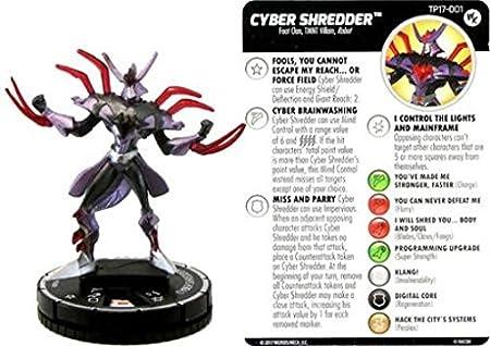 Teenage Mutant Ninja Turtles Heroclix Cyber Shredder Tp17 001 Games Accessories Amazon Canada