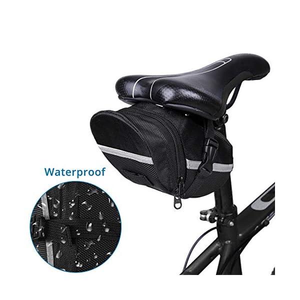 AUTOUTLET Trousse d'outils de vélo, Outils de Réparation de Vélo Multifonction 27 in1 Tournevis 16 en 1,Manomètre de…