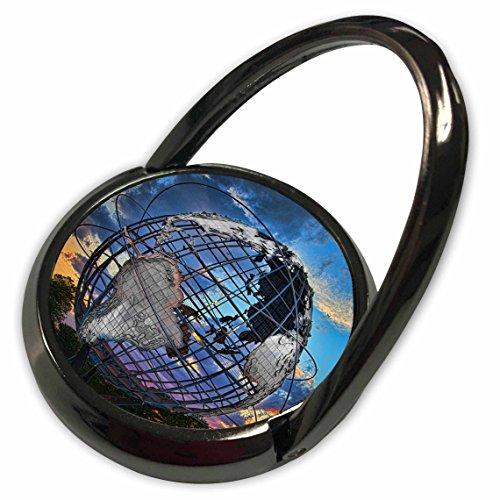 3dRose Chris Lord New York - Unisphere Sunset Globe Sculpture - Phone Ring (phr_123866_1) (Telephone Sunset)