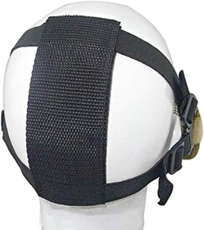 M/áscara de Airsoft QMFIVE Malla de Acero t/áctico mascaras Mascara de Media Cara el Engranaje Protector para Airsoft Paintball