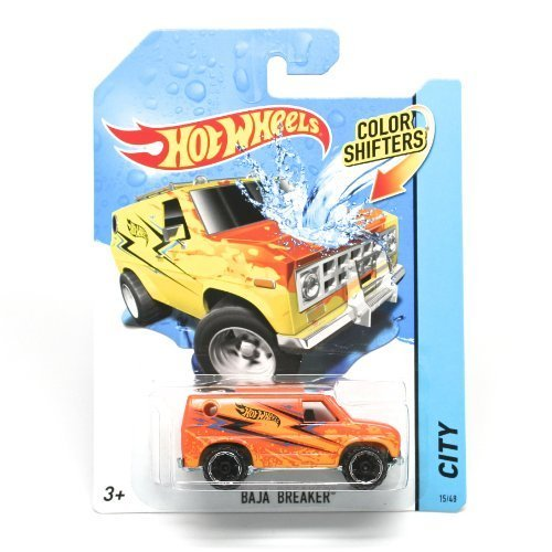 BAJA BREAKER * COLOR SHIFTERS * 2014 Hot Wheels City Series 1:64 Scale Vehicle #15/48