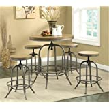 Coaster Home Furnishings Transitional Bar Table, Brown